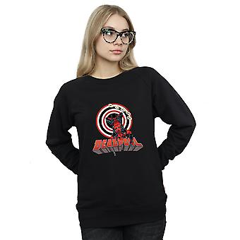 Marvel Women's Deadpool Upside Down Sweatshirt