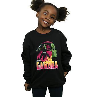 The Avengers Mädchen Infinity Krieg Gamora Charakter Sweatshirt