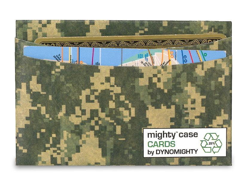 Digital Camo Tarjeta Mighty carcasa por Dynomighty