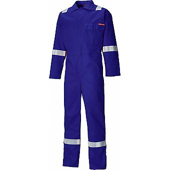 Dickies Mens Everyday Cotton Flame Retardant Taped Workwear Coverall