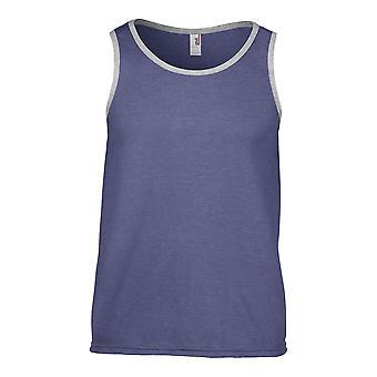 Anvil Mens  Adult Fashion Basic Tank Muslce Vest T Shirt