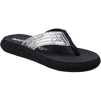 Rocket Dog Womens/Ladies Spotlight Glam Squad Slip On Flip Flops