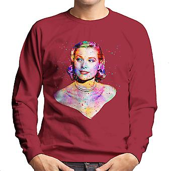 Grace Kelly At Cannes Film Festival 1955 Multicolour Men's Sweatshirt
