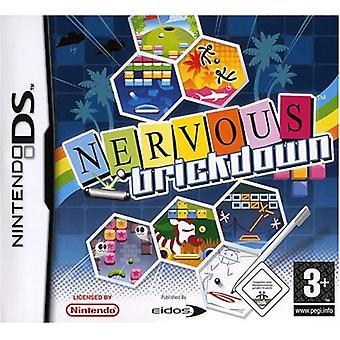 Nervous Brickdown (Nintendo DS) - Factory Sealed