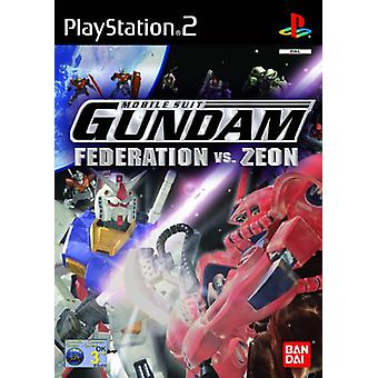 Gundam Føderation vs Zeon