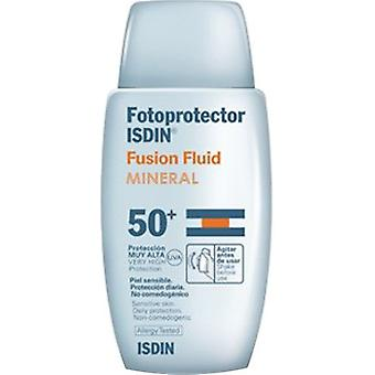 Isdin Photoprotector Sunscreen Fusion Fluid 50 ml (Cosmetics , Body  , Sun protection)