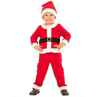 Santa dreng (0-9 M) (jakke bukser Hat)
