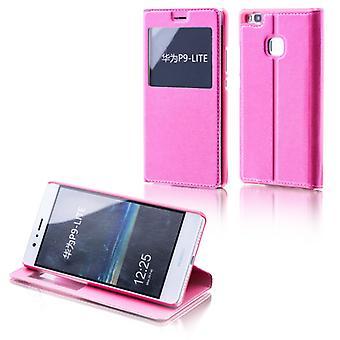 Booktasche finestra rosa per Huawei Nova 5.0
