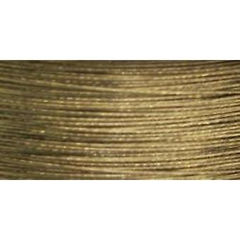 Cord Basics 7-Strand Beading Wire .3mmX40'-Gold