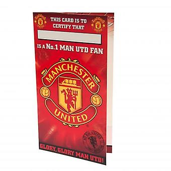 Manchester United-Geburtstags-Karte Nr. 1 Fan