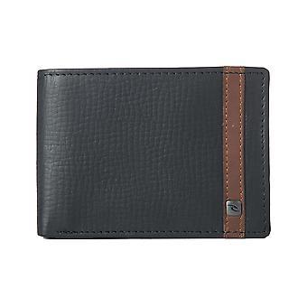 Rip Curl Overlap Clip RFID Slim Leather Wallet