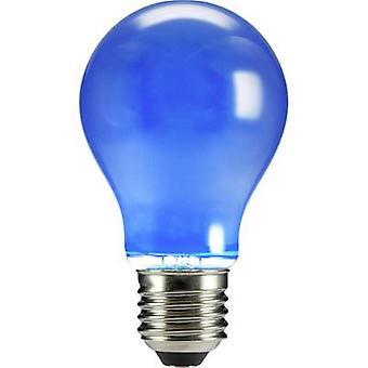 Sygonix LED E27 Arbitrary 4 W Blue (Ø x L) 60 mm x 105 mm EEC: n/a Filament 1 pc(s)