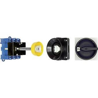 Kraus & Naimer KG80 T103/09 VE Isolator bryter + døren lås 80 A 1 x 90 ° svart 1 eller flere PCer