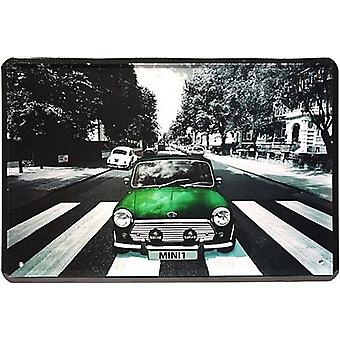 Green Mini 1 Metal Sign (Jk 300Mm X 200Mm)