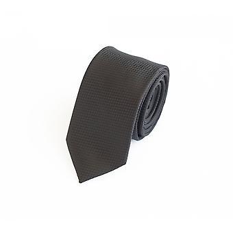 Cravatta cravatta cravatta cravatta 6cm nero uni punto struttura Fabio Farini