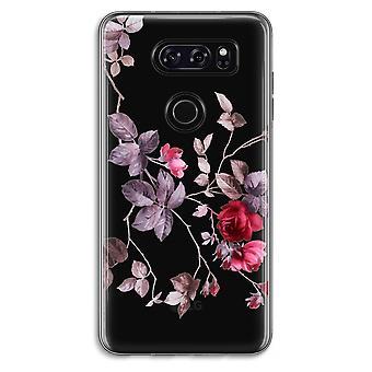 LG V30 Transparent Case - Pretty flowers