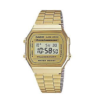 Casio A168WG-9W Classis Digital Watches - Gold