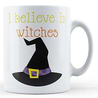 Я верю в ведьмы - печатных кружка