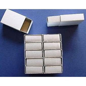 12 Plain White Empty Matchboxes for Crafts | Papier Mache Shapes