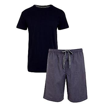 Jockey 1/2 Knit Pyjama Gift Set - Navy