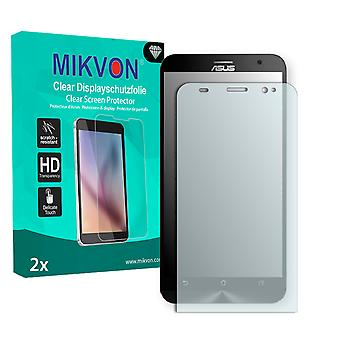 Asus ZenFone 2 (ZE550ML) Screen Protector - Mikvon Clear (Retail Package with accessories)