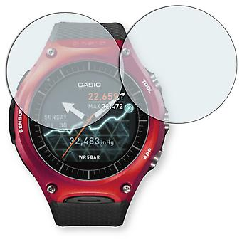 Casio WSD-F10 display protector - Golebo crystal clear protection film