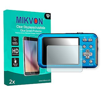 Panasonic Lumix DMC-FT25 Screen Protector - Mikvon Clear (Retail Package with accessories)