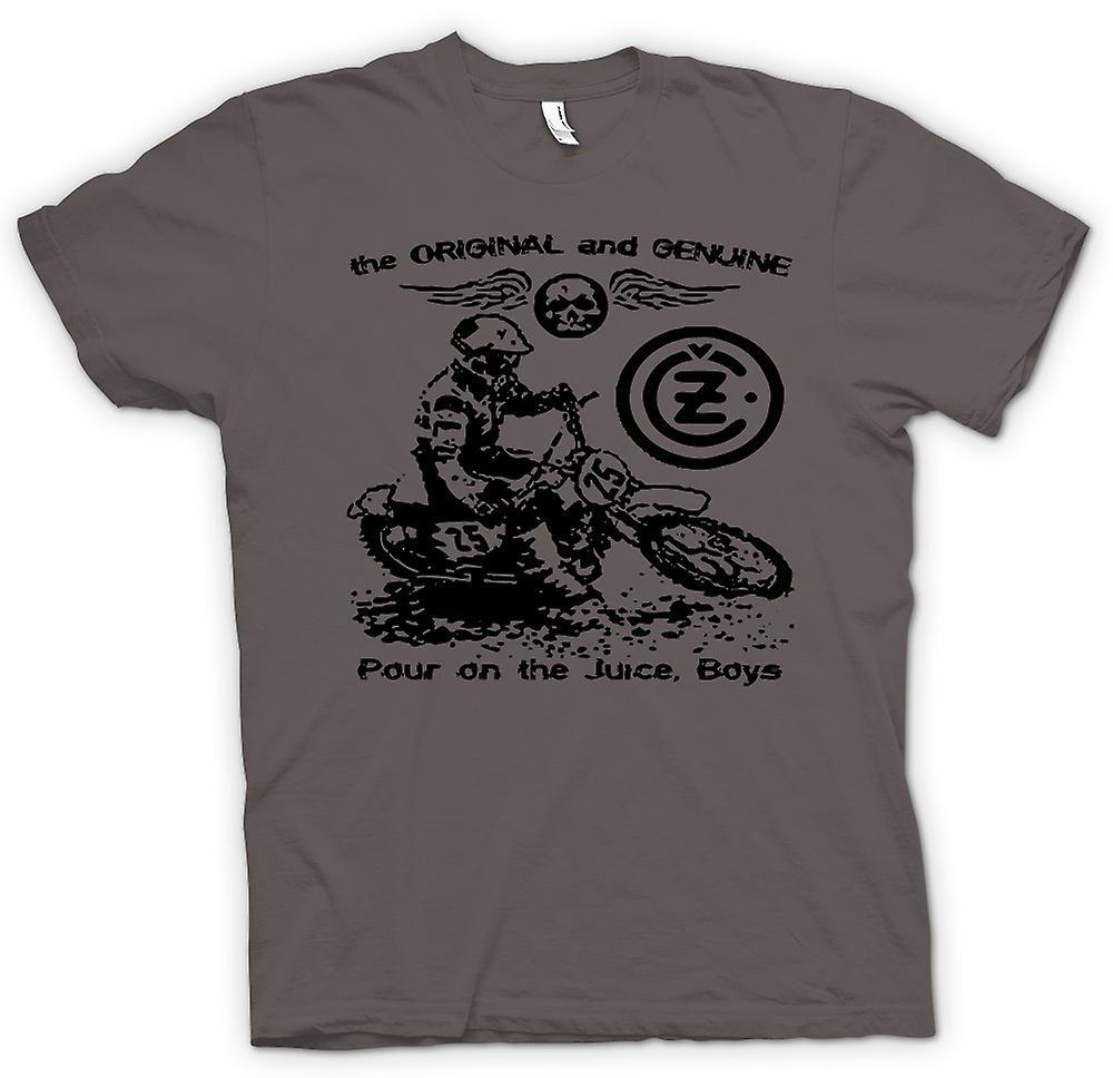 Hommes T-shirt - Jawa CZ Juice - Moto Classique