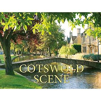 Cotswold Scene - A View of the Hills and Surrounding Areas - Including
