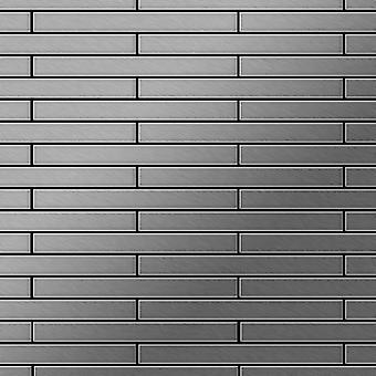 Mosaico de metal sólido Acero inoxidable ALLOY Avenue-S-S-MB