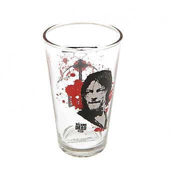 The Walking Dead Official Daryl Large Glass