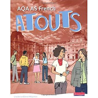 Atouts: Livre de l'élève Français de AQA AS et CDROM