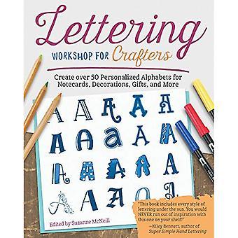 Workshop belettering voor Crafters