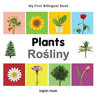 Mon premier livre bilingue - plantes - anglais-polonais