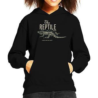 The Reptile Lover Kid's Hooded Sweatshirt