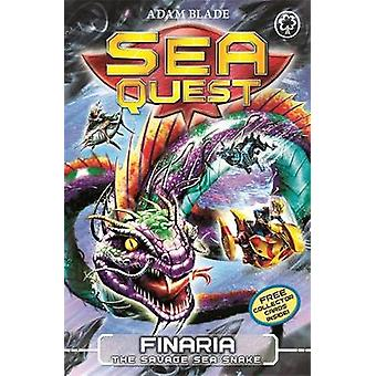 Sea Quest Finaria the Savage Sea Snake  Book 11 by Adam Blade