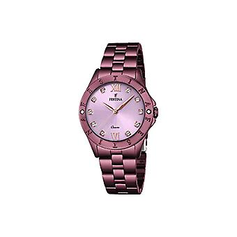 Festina watch Analog quartz ladies with stainless steel strap F16928-A