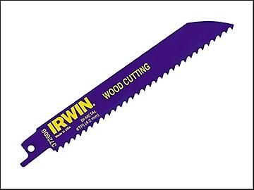 IRWIN Sabre Saw Blade 606R Wood Cutting Pack of 5