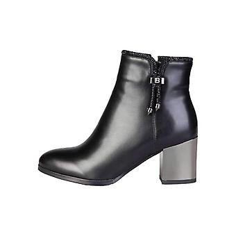 Laura Biagiotti Women Black Ankle boots -- 2173271984