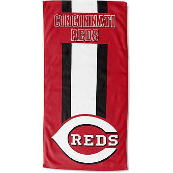 Nordvest badehåndkle for MLB Cincinnati Reds 76x152cm sone