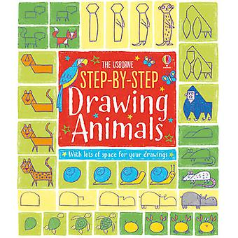 Step-by-Step Drawing Animals by Fiona Watt - Candice Whatmore - 97814