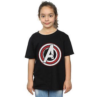 Marvel Girls Avengers Endgame Whatever It Takes Symbol T-Shirt