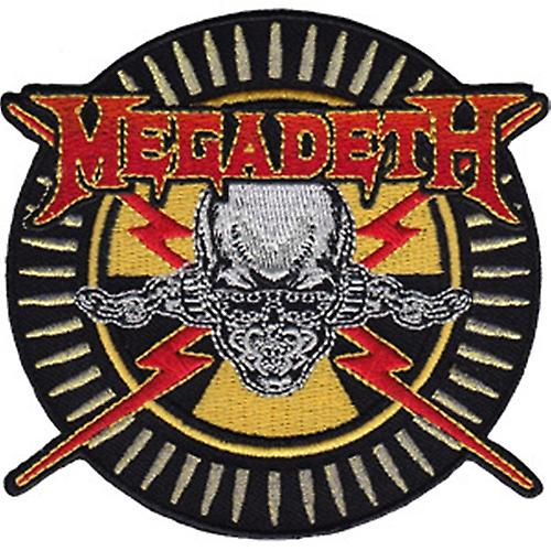 Megadeth embroidered iron-on/sew-on cloth patch (Cd)