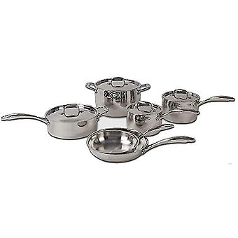 Lenox L-12360 L-12360 Cookware Set 10 Piece Stainless Steel