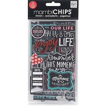 Chipboard Value Pack-Chalk-Fabulous CBVX52