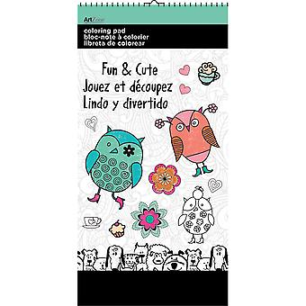 Trends Mini Coloring Pad 6