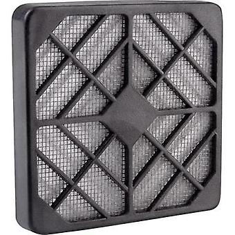 Fan grille with built-in filter (W x H) 12 cm x 12 cm Wallair SCHUTZGITTER KU KF 120