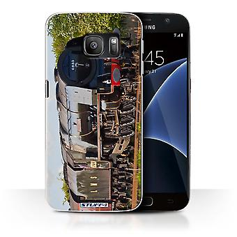 STUFF4 Case/Cover for Samsung Galaxy S7/G930/Duchess Sutherland/Steam Locomotive