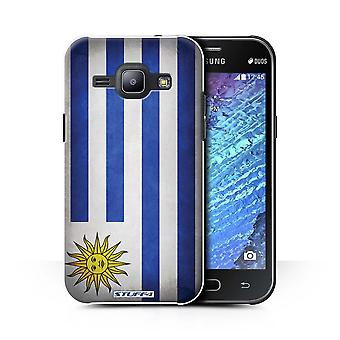 STUFF4 Case/Cover for Samsung Galaxy J1 Ace/J110/Uruguay/Uruguayan/Flags