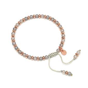 Lola Rose Compton Bracelet Grey Agate